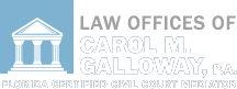 Law Offices of Carol M. Galloway, P.A. Jacksonville Bankruptcy Lawyer